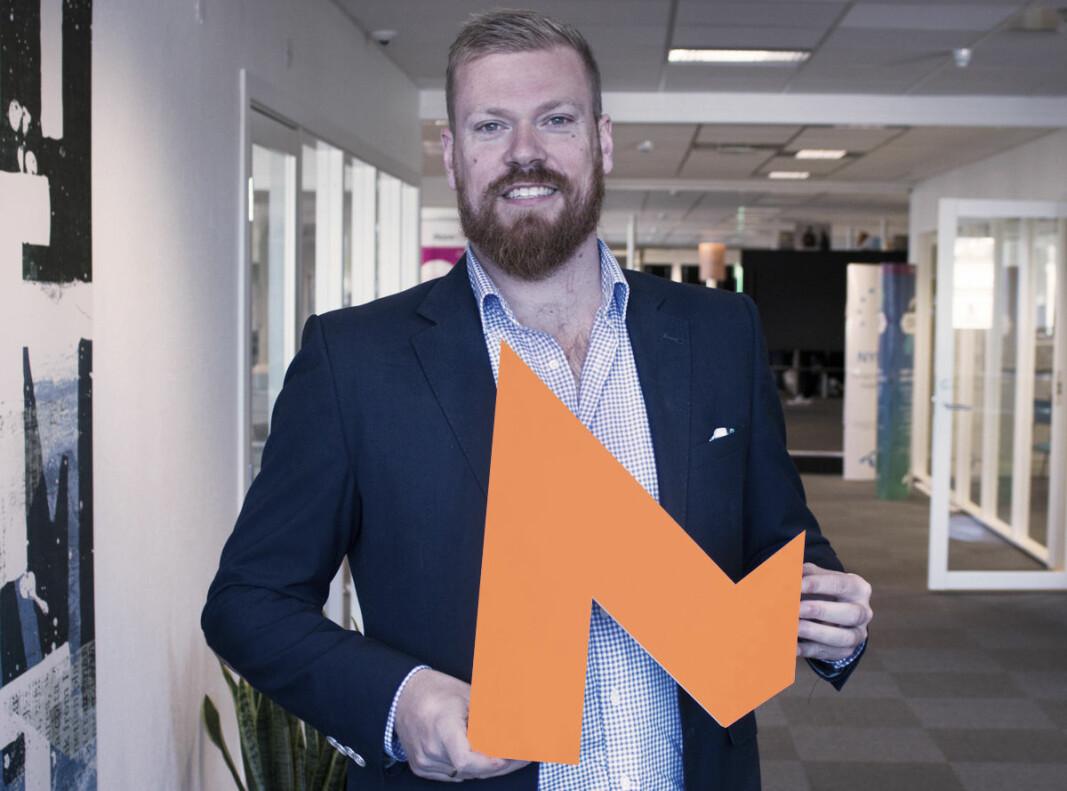 Markedssjef og partner Andreas Jensen i Maskineriet.