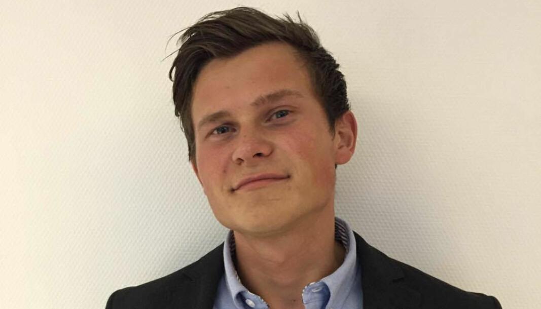 Fredrik Bakkland jobber nå i Signify AS.