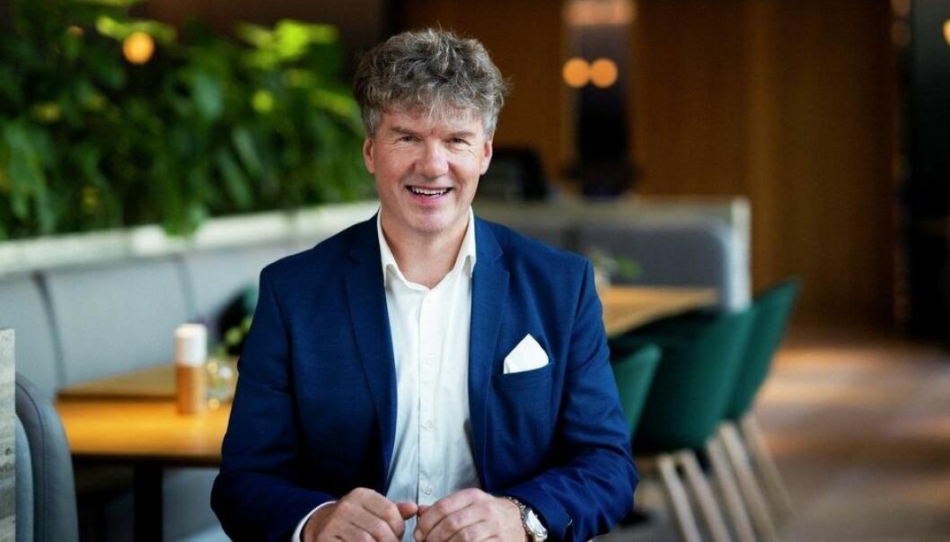 CEO Arnulf Røkke i Synlighet.
