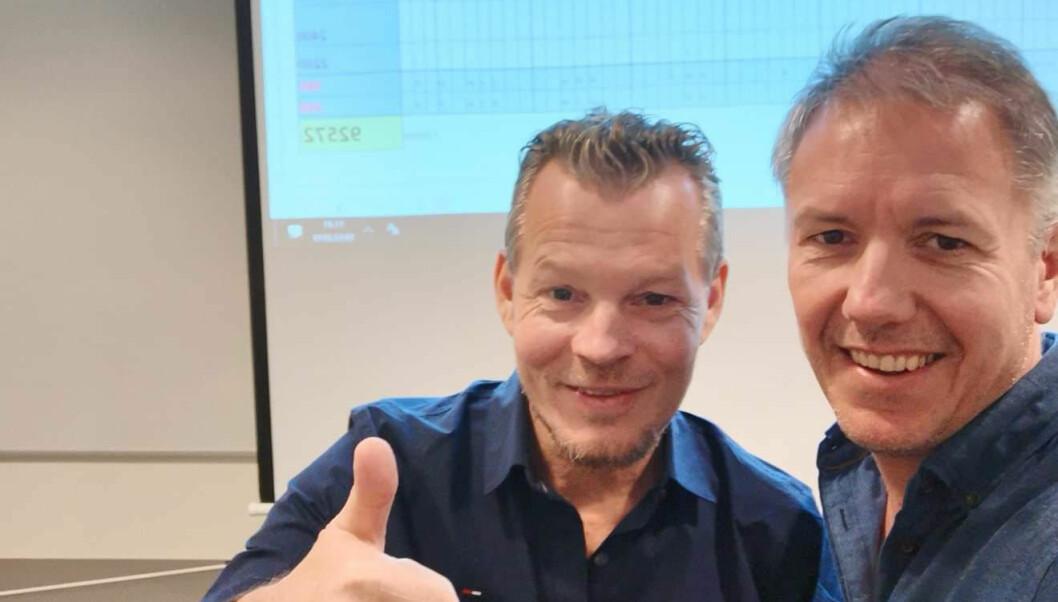 Øystein Vangsnes og Terje Bjørkhaug