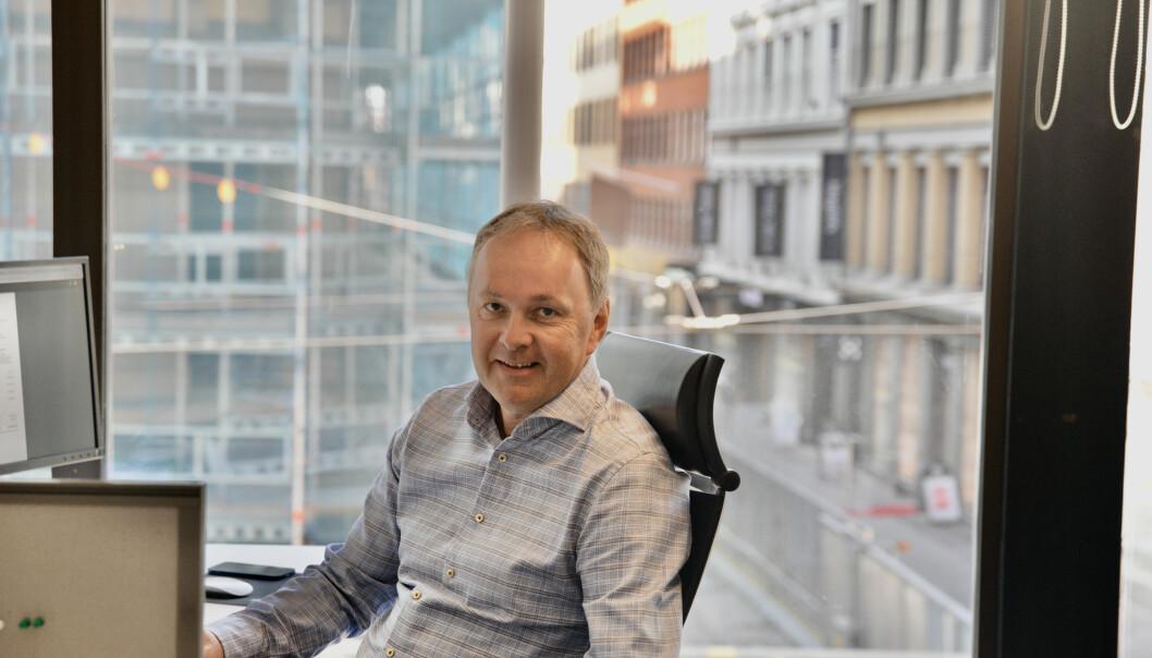 Eirik Solheim har jobbet som salgsdirektør i Teknisk Ukeblad siden 2010.