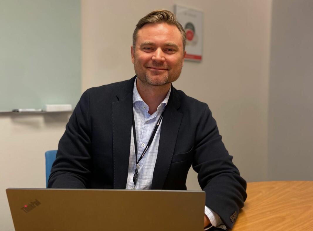 Salgsdirektør i Storebrand Bank Aasmund Hveding har lykkes med sin nye salgsstrategi.