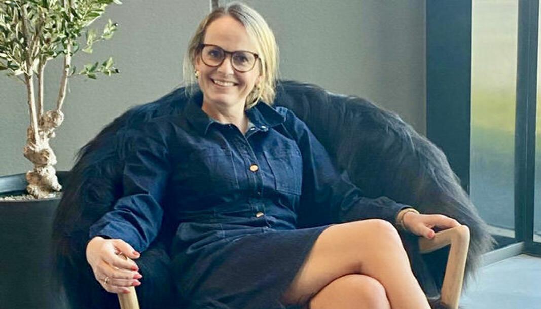 Linda Lillebø jobber som headhunter i rekrutteringsfirmaet SalesJobs AS.
