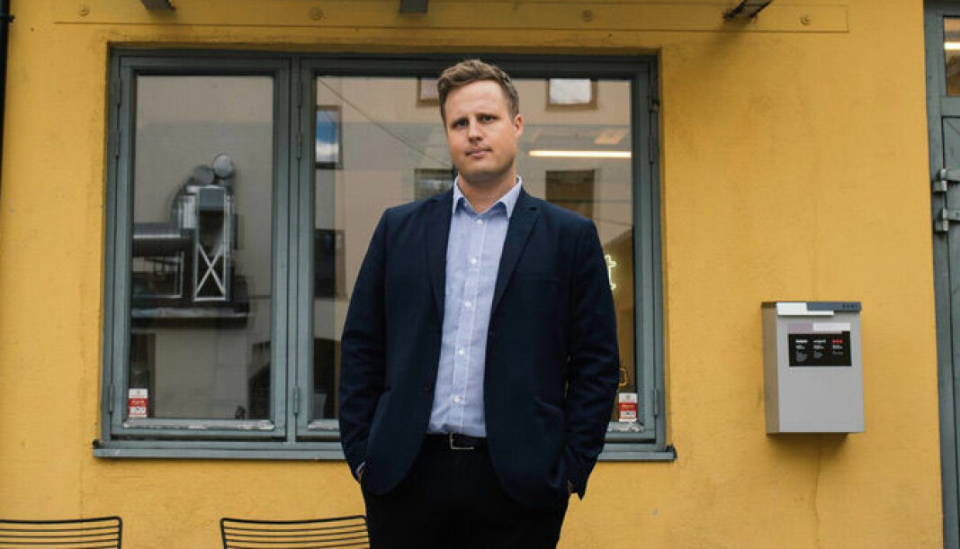 Subjekts nye salgssjef Mats Flåten.