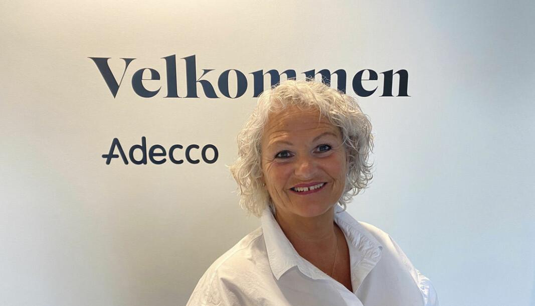 Hildegunn Salvesen har 20 års jubileum i Adecco. I dag jobber hun som kundeansvarlig.