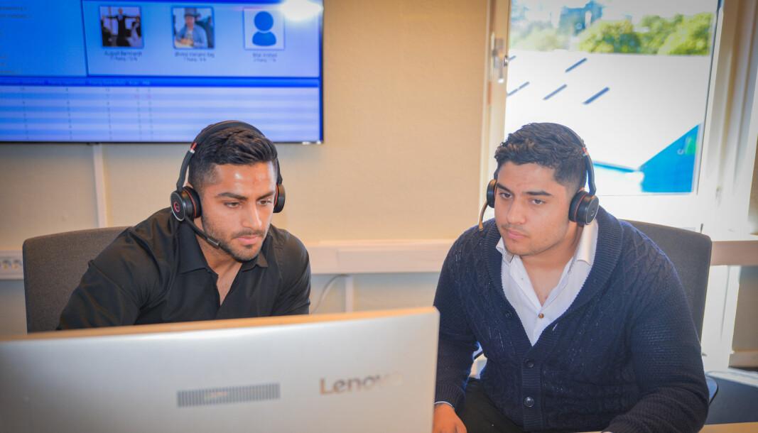 Ahmed Athir og Ali Athir jobber med B2B-salg i Instacall.