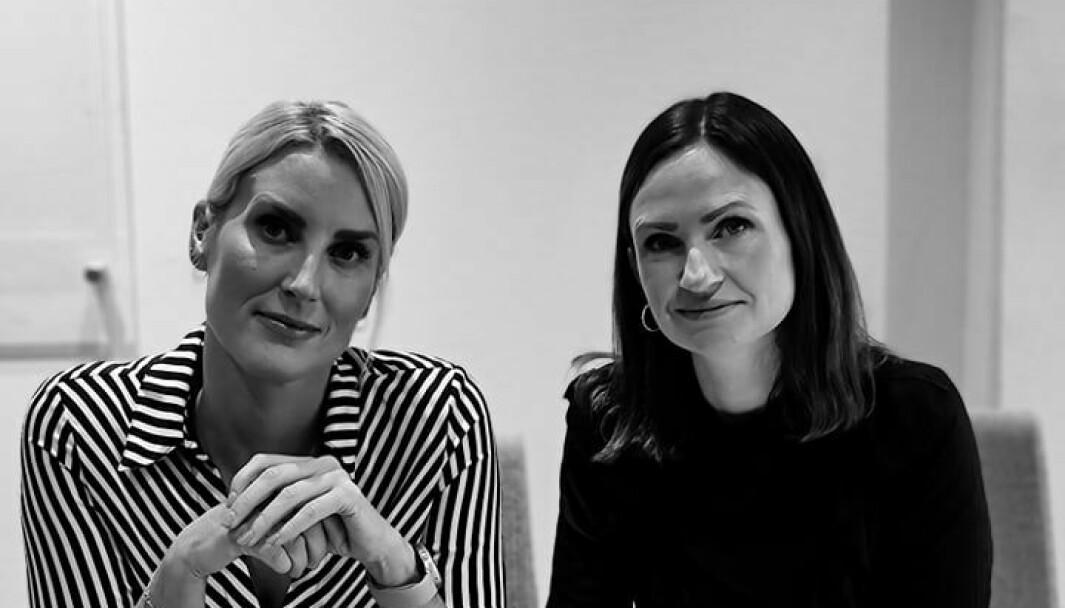 Kommersiell direktør Malin Wiklund (til venstre) og salgsdirektør Yvonne Stikbakke i Radio Metro har en spesiell oppskrift for å skape et langsiktig kundeforhold.