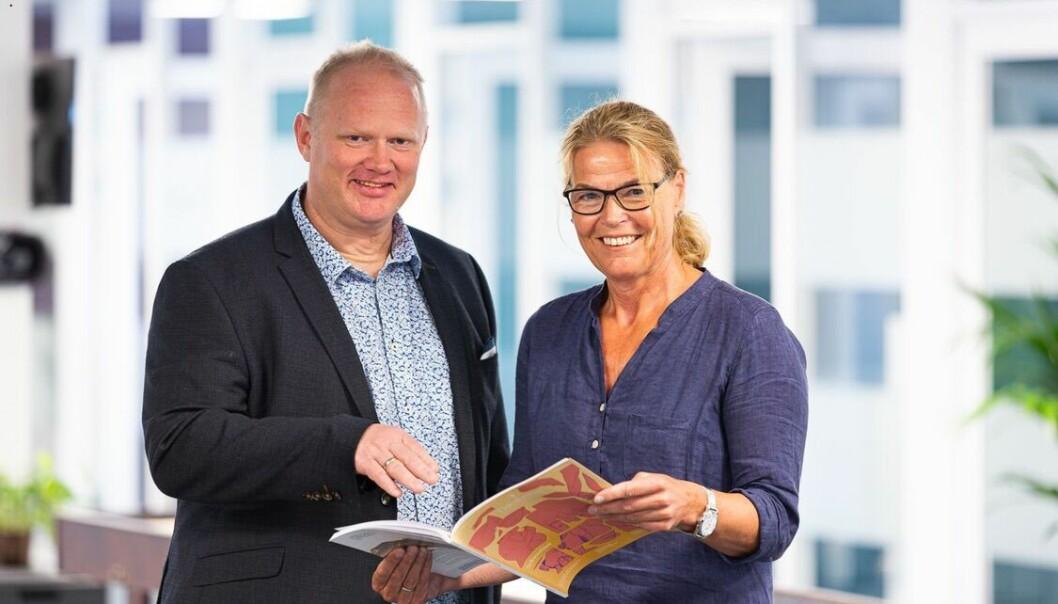 Tore Arne Sandholt tror på en positiv oppdragsvekst i 2022.