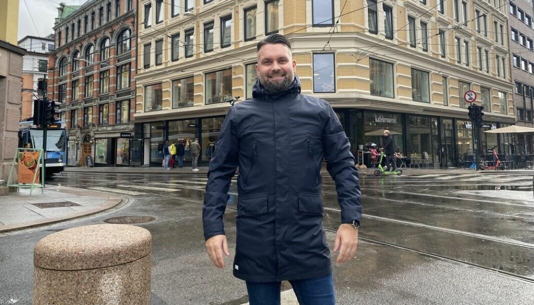 Erik Holmen i GetAccept, har som mål å utdanne det Norske markedet i digitale verktøy.