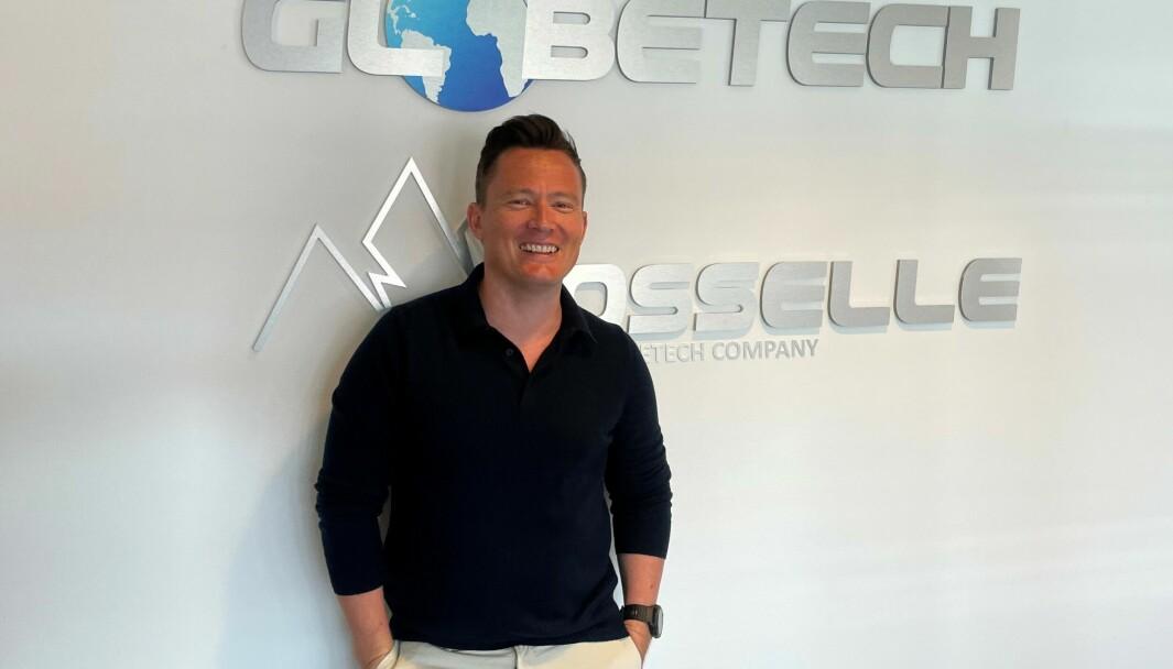 Edmund Magnus Ness har jobbet hardt for å bygge opp en salgsavdeling hos Globetech.