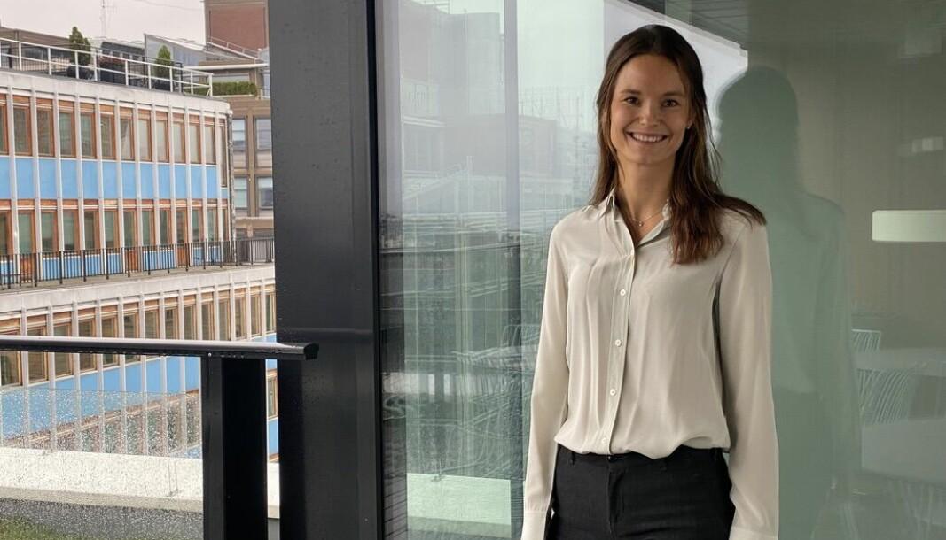 Mariell Kversøy Enge gleder eg til å ta fatt på utfordringene i annonsemarkedet.
