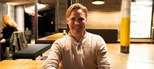Per Anders (30) er den eneste selgeren i bedriften